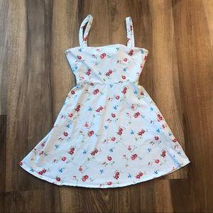 small white floral print Forever 21 summer dress